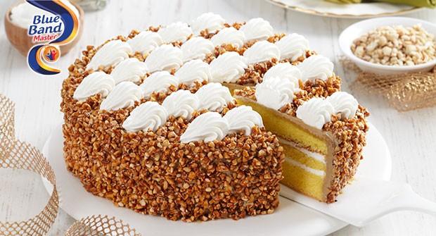 Resep Cake Tart Ncc: Mocca Caramel Nut Cake