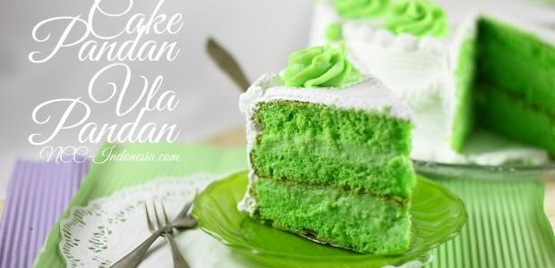 Natural Cooking Club Cake Pandan Vla Pandan