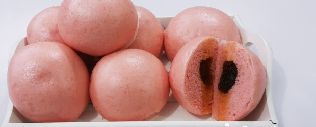 Bakpaow Pink Isi Nenas